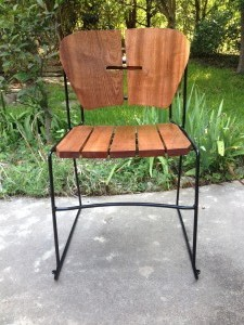 Mahogany Back Tilt Chair