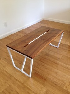 Mahogany/white Coffee Table